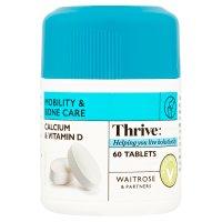 Waitrose LOVElife Calcium & Vitamin D