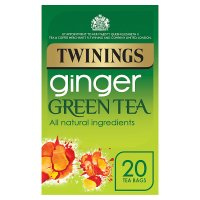 Twinings ginger green tea 20s