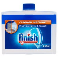 Finish dishwasher cleaner, dual action