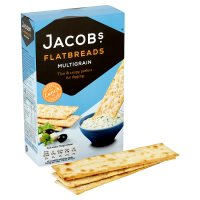 Jacob's multigrain flatbreads