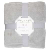 Deyong's Snuggle Touch Throw Silver