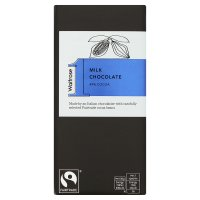Waitrose 1 intense milk chocolate