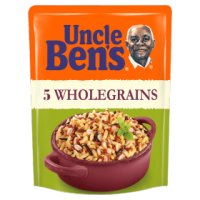 Uncle Ben's rice & grains 5 whole grains
