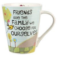 Good Life mug friends are like family