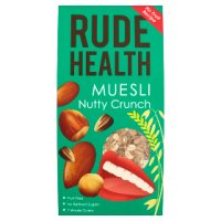 Rude health just nuts crunchy muesli