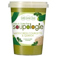 Soupologie Watercress Courgette & Quinoa