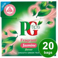 PG Tips fragrant jasmine green tea 20 bags