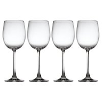 Waitrose Bistro white wine glasses, pack of 4