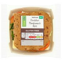 Waitrose LoveLife Cheddar Cheese Ploughman's Roll