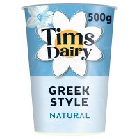 Tims Dairy Greek style natural yogurt