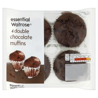 essential Waitrose double chocolate muffins