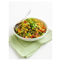 Mixed Rice, Edamame & Vegetable Salad