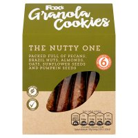 Fox's Granola Cookies The Nutty One 6s