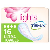 Lights by Tena Ultra Towels