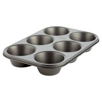 Waitrose Cooking Non-Stick 6 Hole Muffin pan