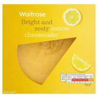 Waitrose lemon cheesecake