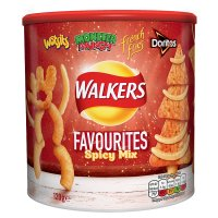 Walkers favourites spicy mix