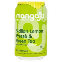 Mangajo Sicilian lemon pressé & green tea