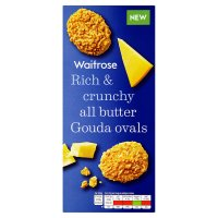 Waitrose all butter Gouda ovals
