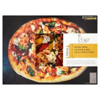 Waitrose 1 chicken & chilli pesto pizza
