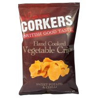 Corkers Sweet Potato with Chilli Crisps