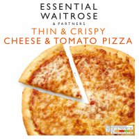 essential Waitrose cheese & tomato pizza