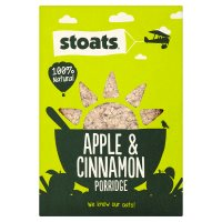 Stoats apple & cinnamon porridge