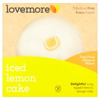 Lovemore G/Free Iced Lemon Cake