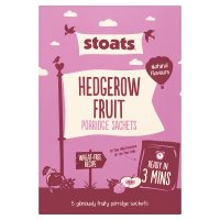 Stoats Hedgerow Fruit Porridge Sachets