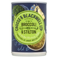 Crosse & Blackweel Best of British broccoli & stilton soup