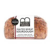 The Bertinet Bakery Malted Wheat Sourdough Sliced
