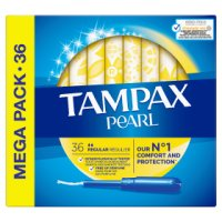 Tampax Pearl Regular Applicator Tampon Single 40PK