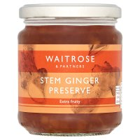 Waitrose stem ginger preserve