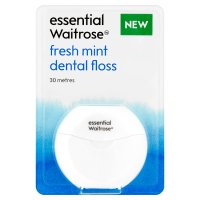 essential Waitrose fresh mint floss