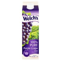 Welch's 100% pure purple grape juice from concentrate