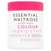essential Waitrose stain remover powder for coloured fabric