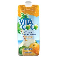 Vita Coco coconut water with orange