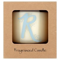 Waitrose Alphabet R Coconut & Sandalwood Candle