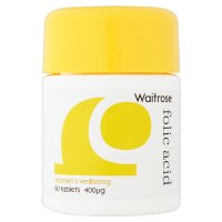 Waitrose LOVE Life Folic Acid