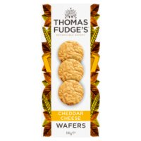 Thomas.J.Fudge's Melty Cheddar Wafers