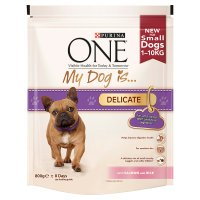 Purina one my dog is... delicate