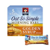 Quaker Oat So Simple Morning Cereal Bars golden syrup