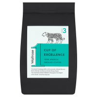 from Waitrose cup of excellence ground coffee
