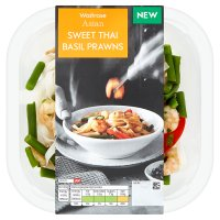 Waitrose Asian Sweet Thai Basil Prawns