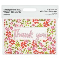 Salisbury thank you cards, pack of 6