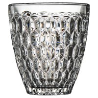 Waitrose Dining Diamond Pressed Glass Tumbler
