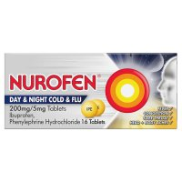 Nurofen 16 day & night, cold & flu tablets