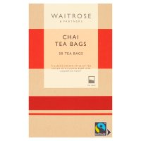 Waitrose 50 chai tea bags