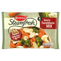 Birds Eye field fresh 4 steamers farmhouse mix