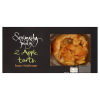 Waitrose Seriously 2 apple tarts